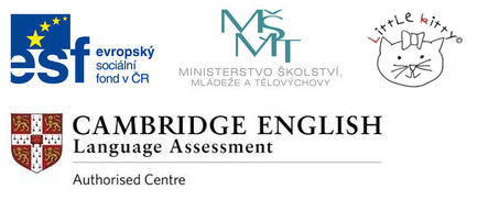 MŠMT, ESF, Little kitty, Cambridge English Language Assessment - Authorised Centre